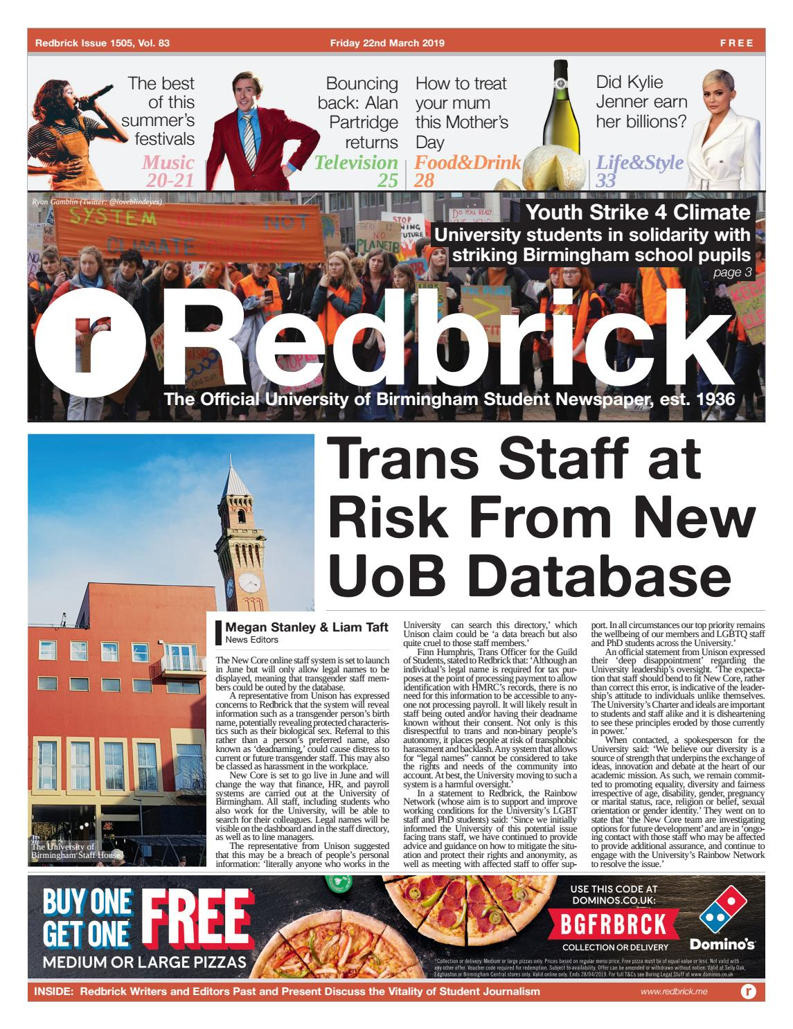 Issue 1505 By Redbrick Issuu
