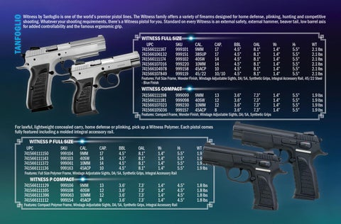 Page 2 of TANFOGLIO Firearms