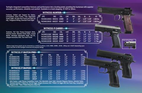 Page 3 of TANFOGLIO Firearms