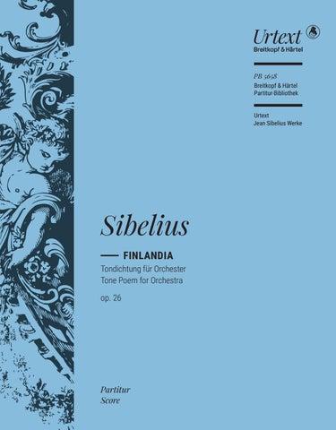 Pb 5658 Sibelius Finlandia By Breitkopf Härtel Issuu