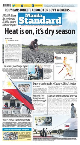 Manila Standard - 2019 March 23 - Saturday by Manila Standard - issuu