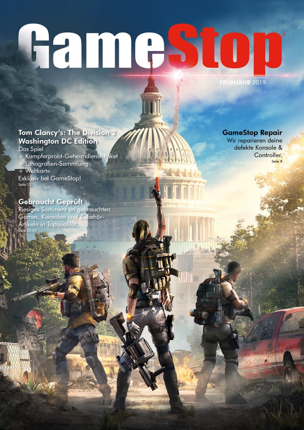Gamestop Katalog Fruhjahr 2019 By Gamestop Issuu