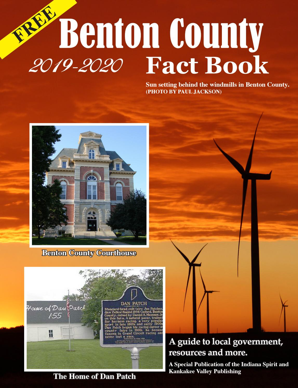 2019-20 Benton County Fact Book by Newton County Newspapers