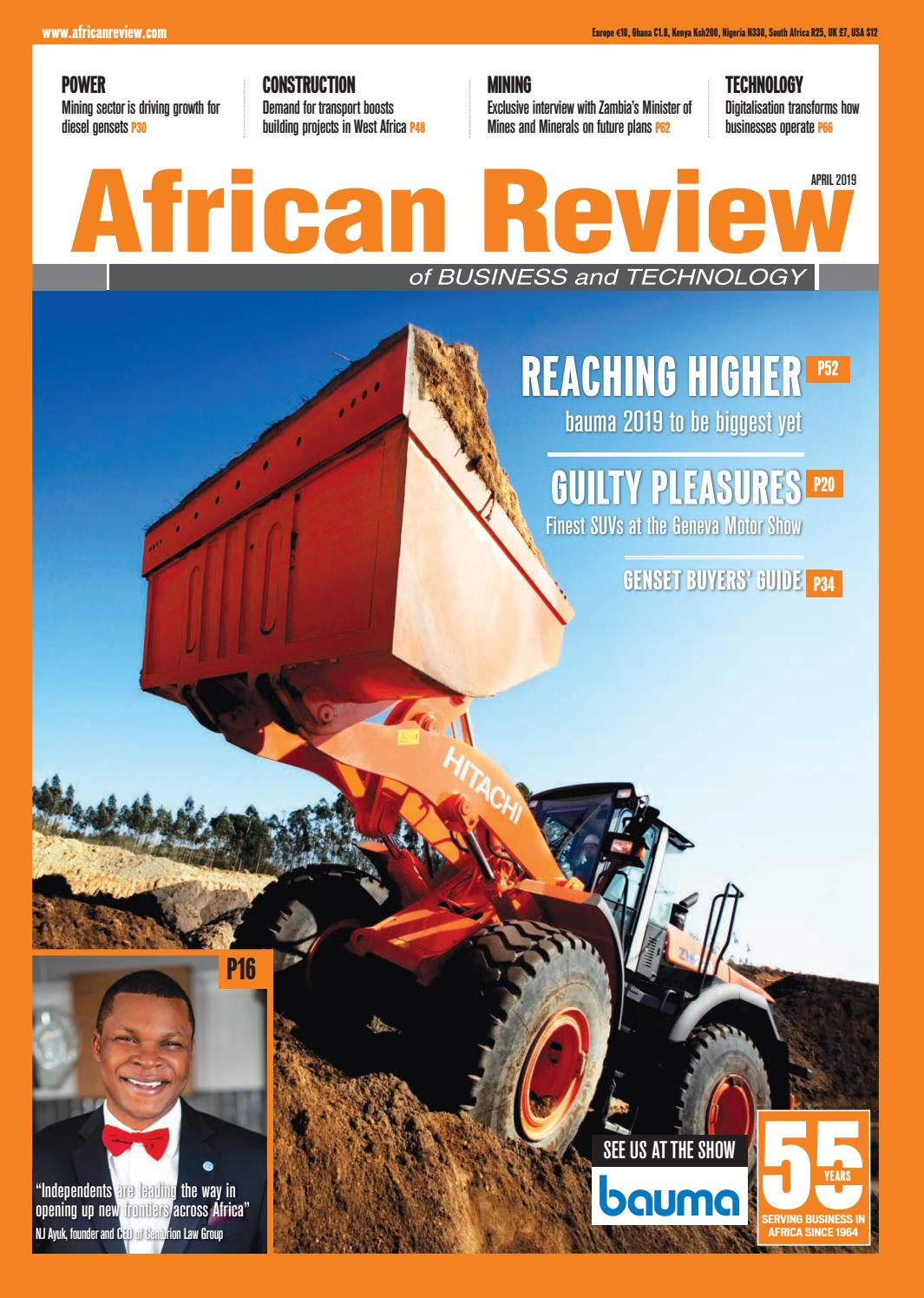 Bea Cummins african review april 2019alain charles publishing - issuu