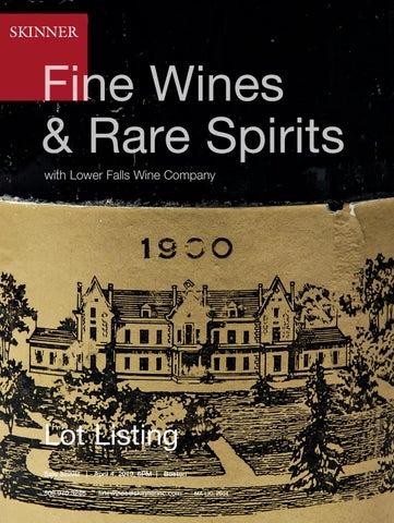 Fine Wines & Rare Spirits by Skinner, Inc  - issuu