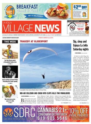 La Jolla Village News, March 22nd, 2019 by San Diego