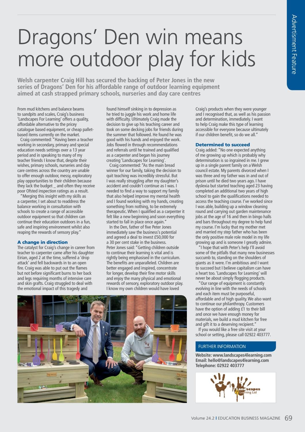 Education Business Magazine 24 2 By Psi Media Issuu