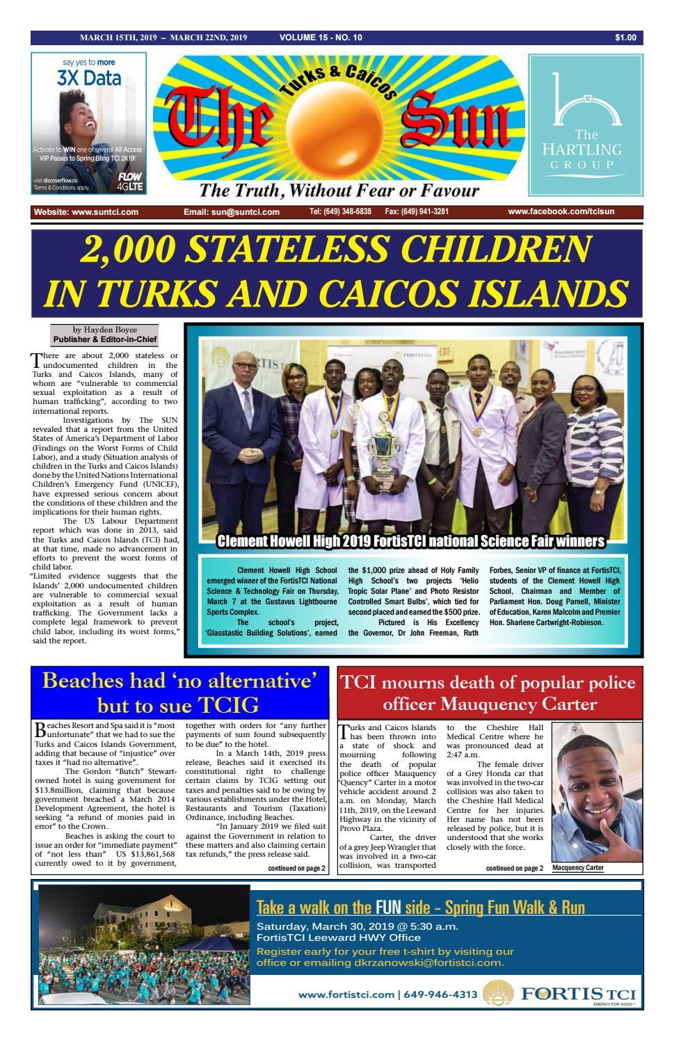 07f71faf2c2 VOLUME 15 ISSUE 10 by The SUN Newspaper - issuu