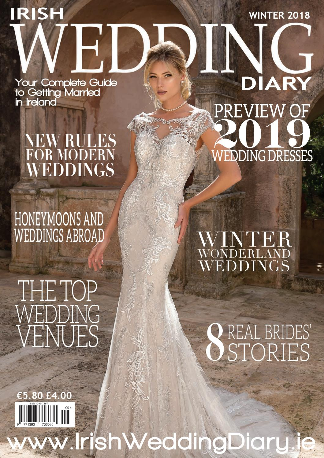 Irish Wedding Diary Magazine Winter 2018 By Irish Wedding Diary
