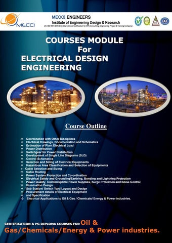 Electrical Design Engineering Course By Mecci Engineers Issuu