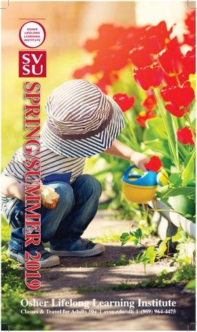 OLLI at SVSU - Spring 2019 Catalog by Saginaw Valley State