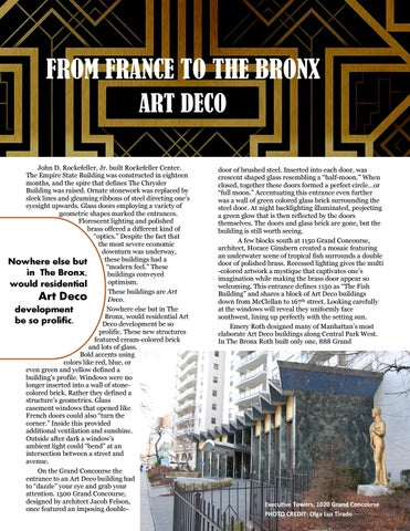 Page 6 of From France to The Bronx: Art Deco