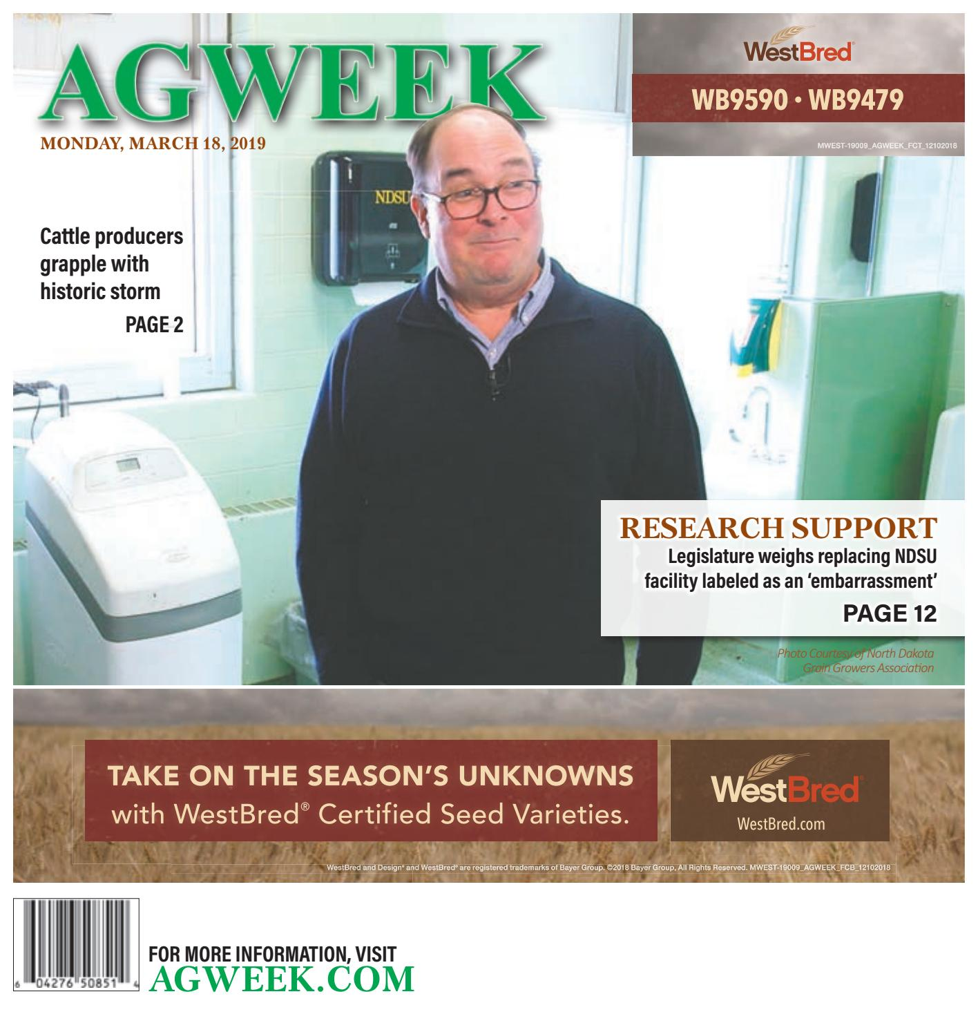 AGWEEK 0319 by Prairie Business Magazine - issuu