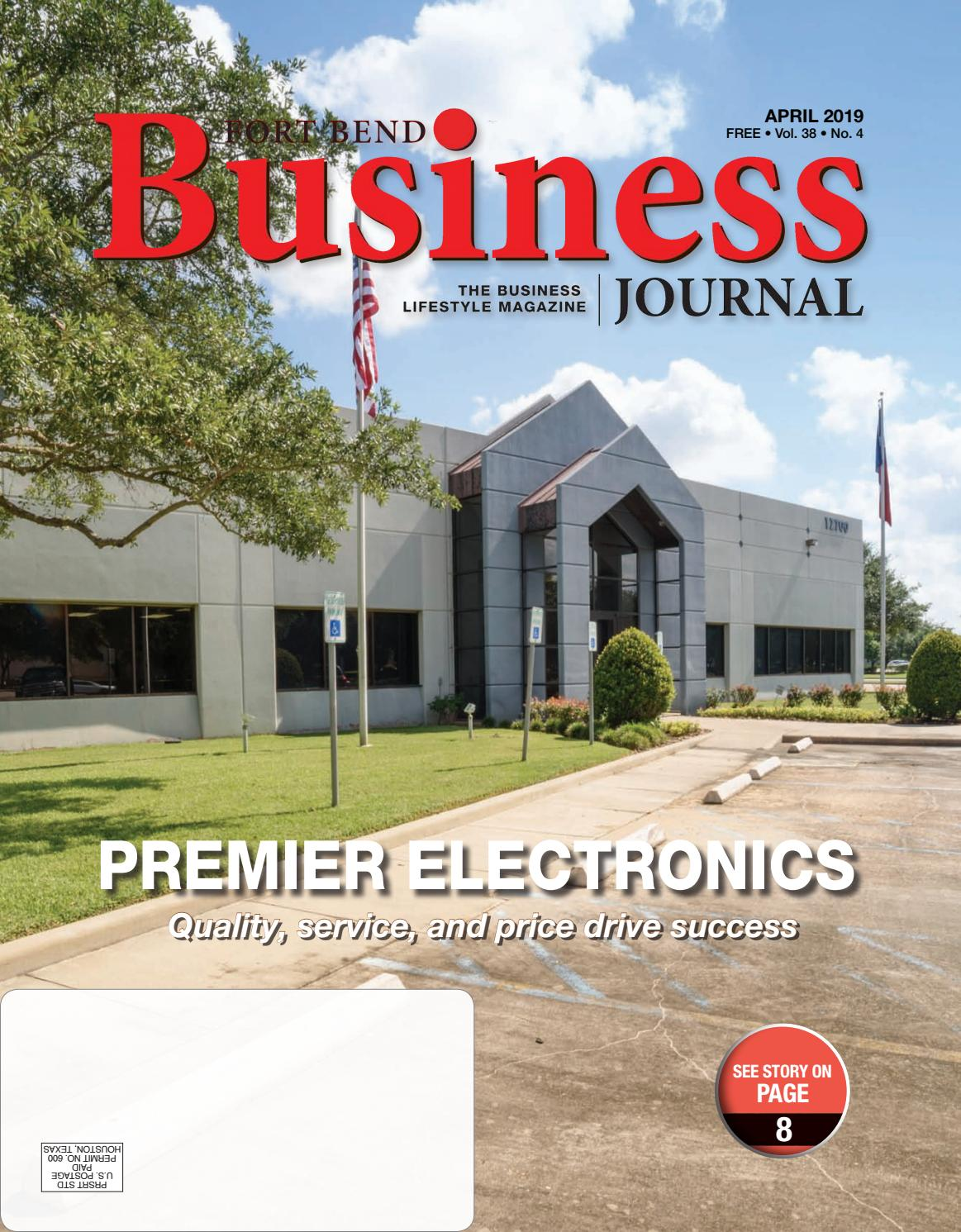 Fort Bend Business Journal April 2019 Edition by Sugar Land