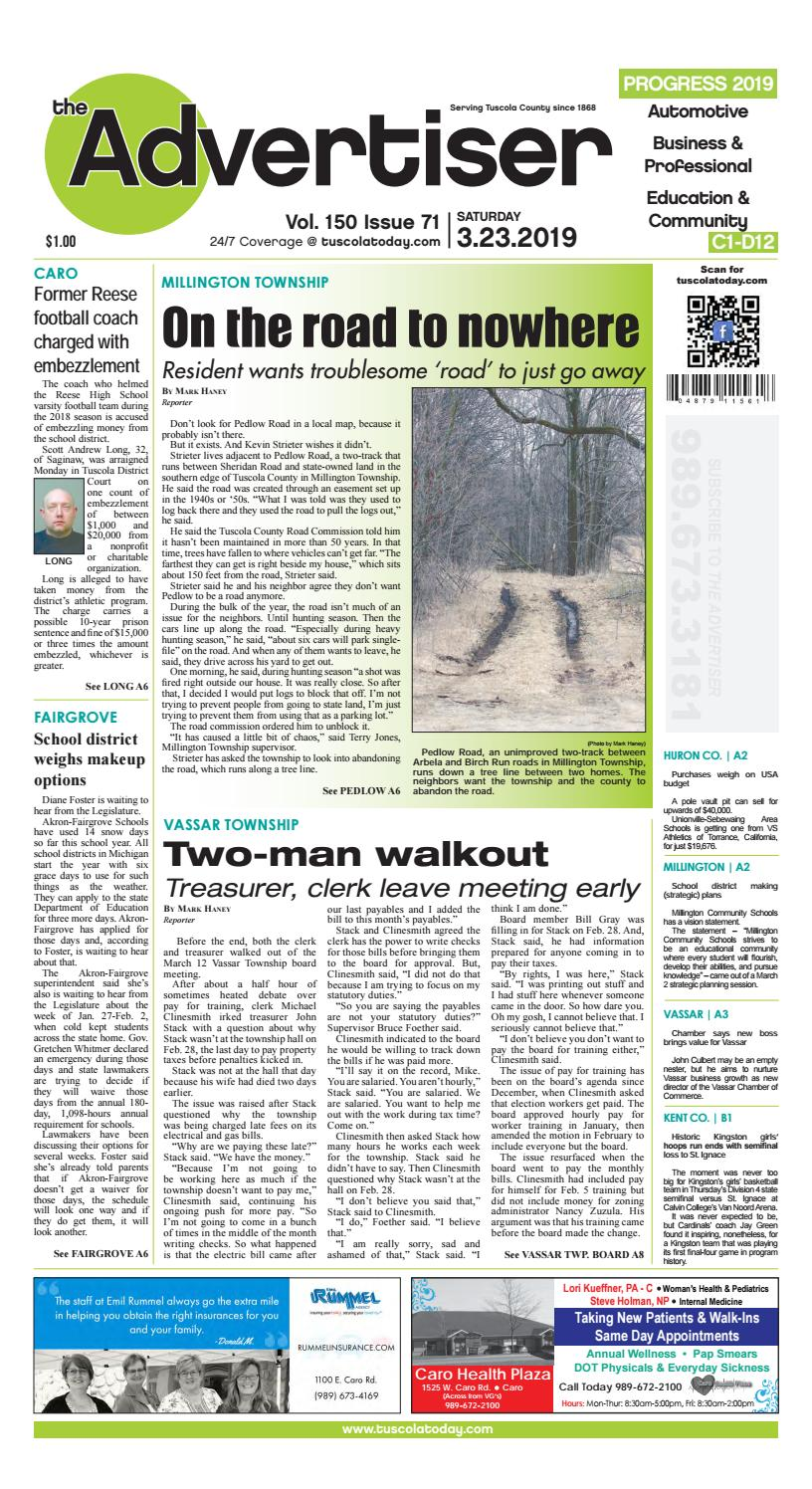 TCA 3-23-19 All Pages by Tuscola County Advertiser - issuu
