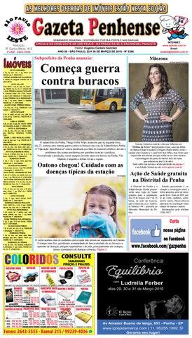 600cc6dd7 Gazeta Penhense edição 2395 - 23 a 30 03 19 by Marcelo Cantero - issuu