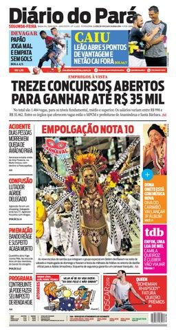 0d090543fbdf3 Jornal Diário do Pará Nº 12.623 by Portal Academia do Samba - issuu