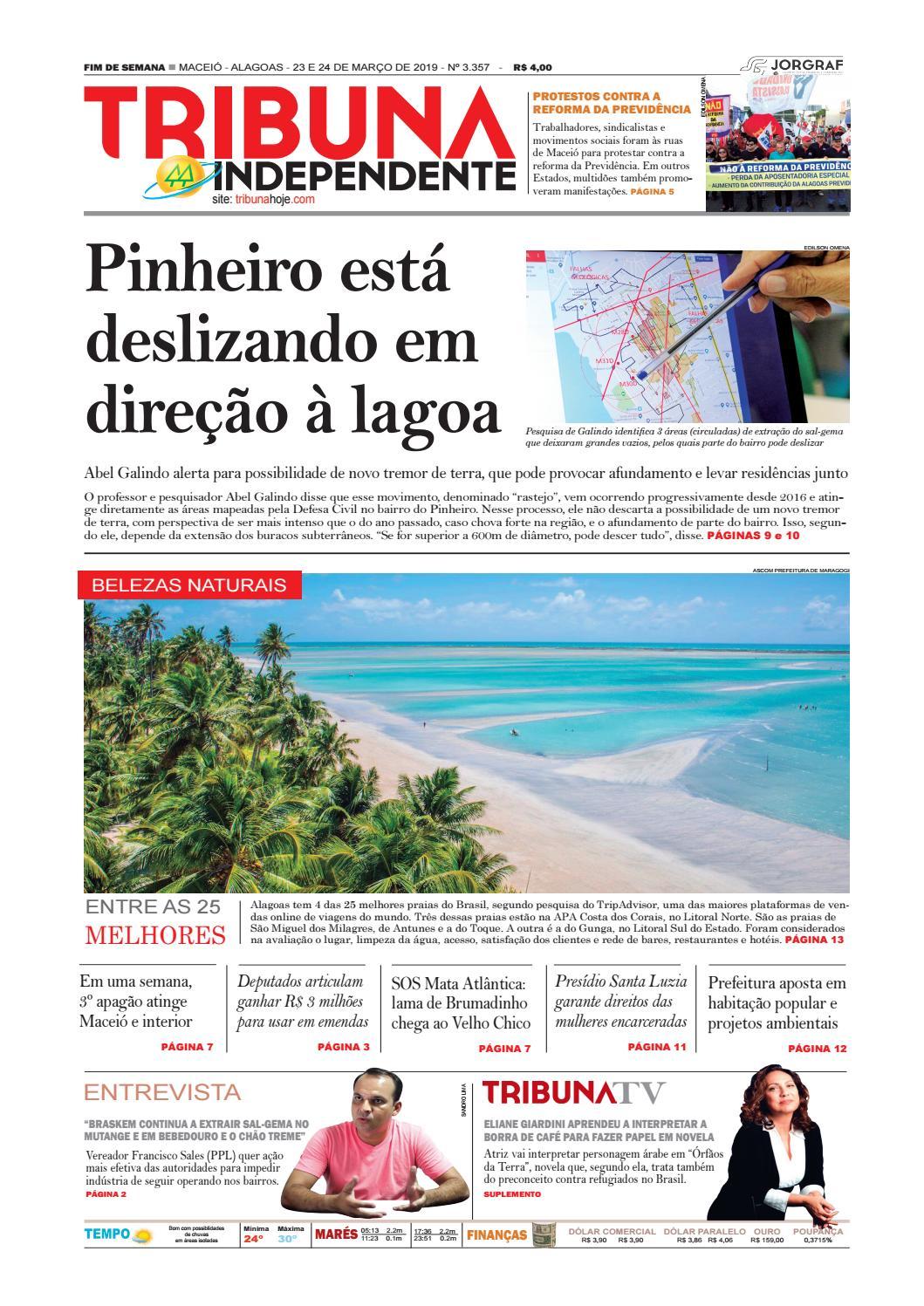 f380c5c41 Edição número 3357 - 23 e 24 de março de 2019 by Tribuna Hoje - issuu