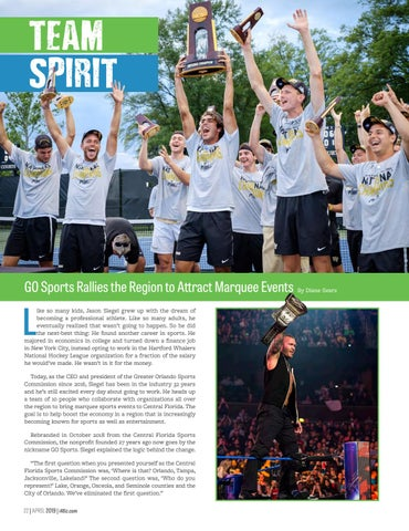Page 24 of GO Sports Rallies the Region to Attract Marquee Events