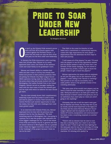 Page 29 of Orlando Pride to Soar Under New Leadership