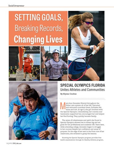 Page 56 of Special Olympics Florida - Setting Goals, Breaking Records, Changing Lives