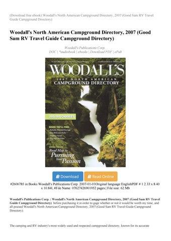 woodalls rv