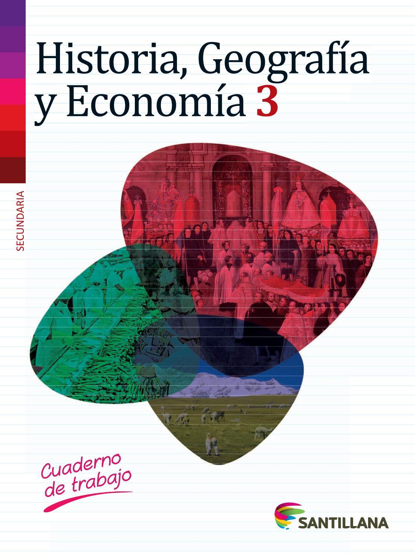 Historia Geografía y Economía 3° Secundaria by Rogger