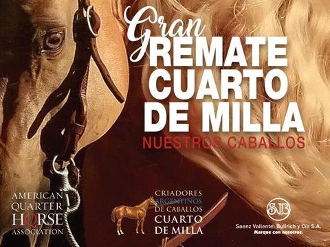 Gran Remate CUARTO DE MILLA Nuestros Caballos 2019 by ...