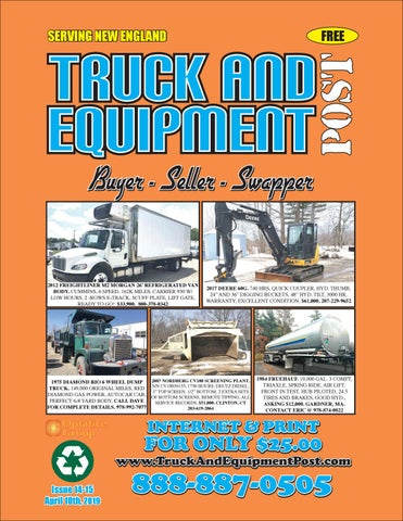 Truck And Equipment Post - Issue 14-15, 2019 by 1ClickAway - issuu