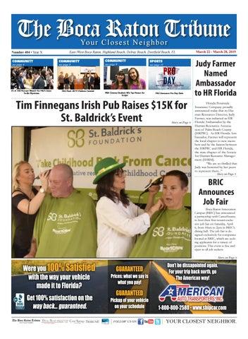 The Boca Raton Tribune ED 404 by The Boca Raton Tribune - issuu
