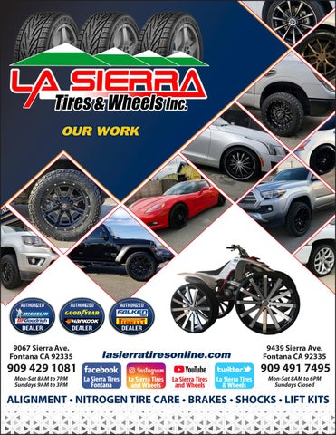 La Sierra Tires >> La Sierra Tires Fontana By La Sierra Tires Wheels Issuu