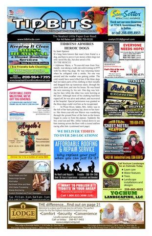 Tidbits Issue 13 Cda 2019 By Tidbits Kootenai County Idaho Issuu