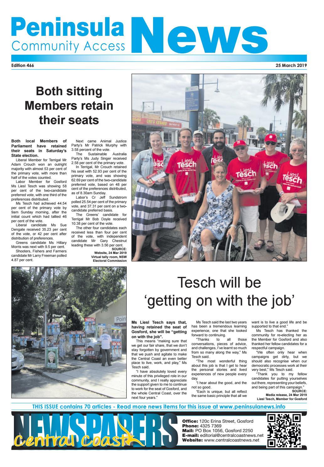 Peninsula News 466 by Mark Snell - issuu