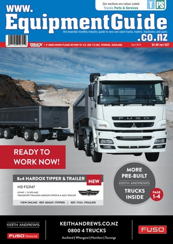 Equipment Guide April 2019 by NZ Truck & Driver - issuu