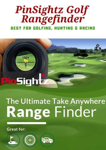 PinSightz Laser Rangefinder by Golfs Hub - issuu