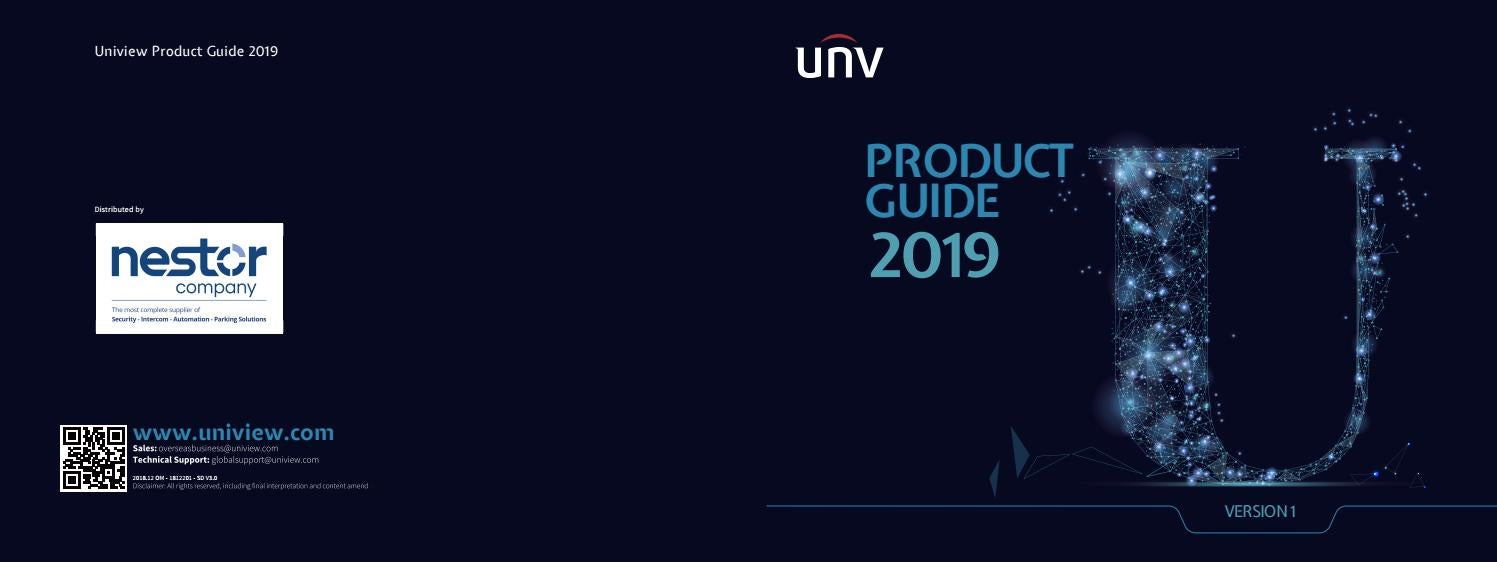 Uniview Project Guide 2019 by nestor company - issuu