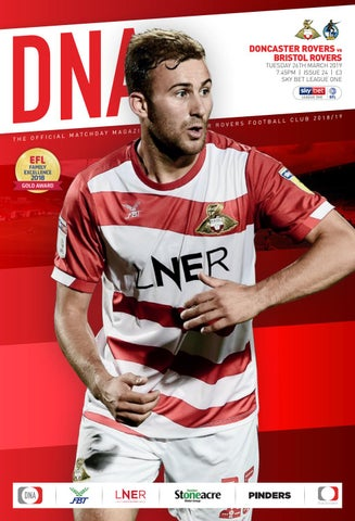 bc6c43376718 Doncaster Rovers v Bristol Rovers Official Matchday Magazine by Mark ...