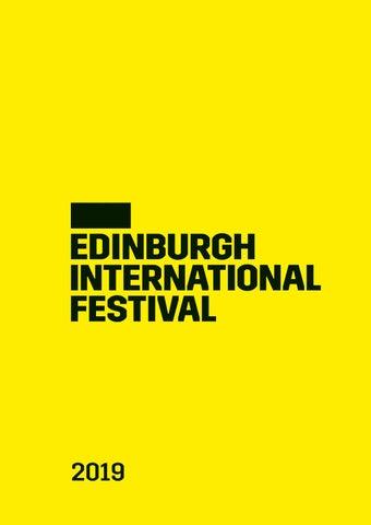 2019 Edinburgh International Festival brochure by Edinburgh