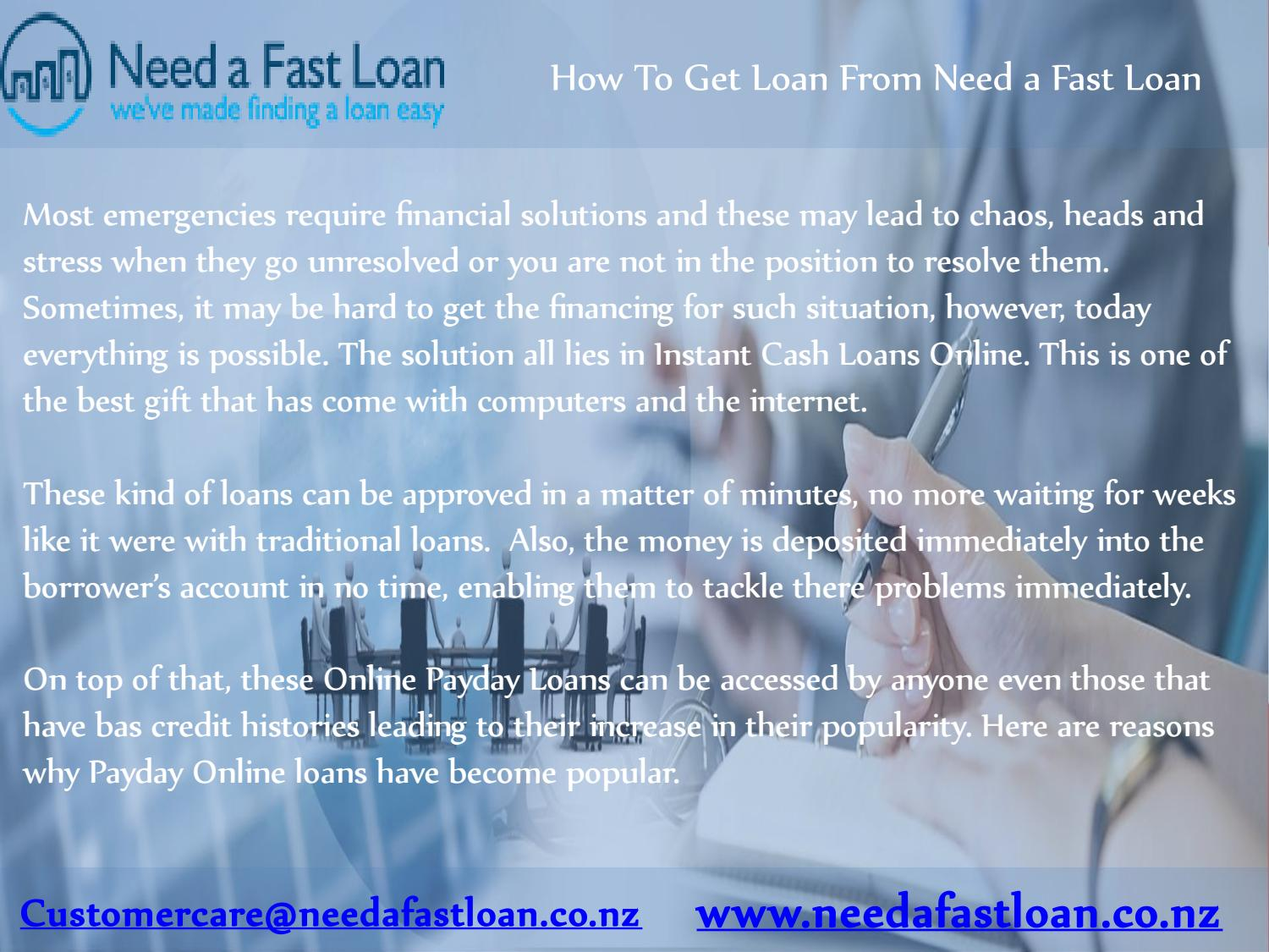 Best Place To Get A Loan >> Get Loan From Need A Fast Loan By Need A Fast Loan Issuu