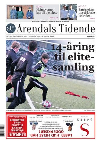 fdb39be8 Arendals Tidende uke 13 - nr 23 by Tvende Media AS - issuu