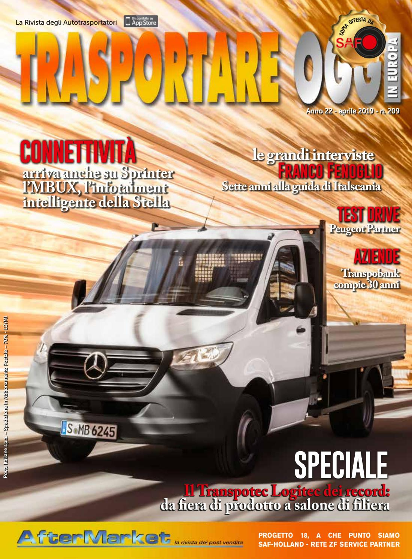 N 209 By Trasportare Oggi In Europa Issuu