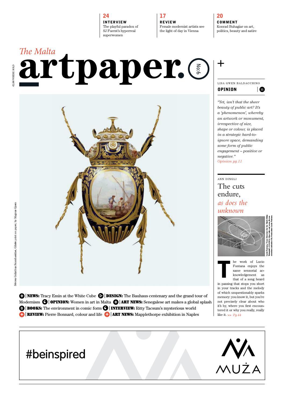 Artpaper  Issue #6 by Artpaper - issuu