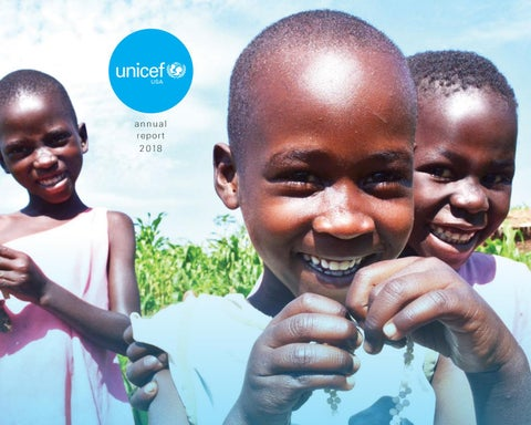 UNICEF USA Annual Report 2018 by UNICEF USA - issuu
