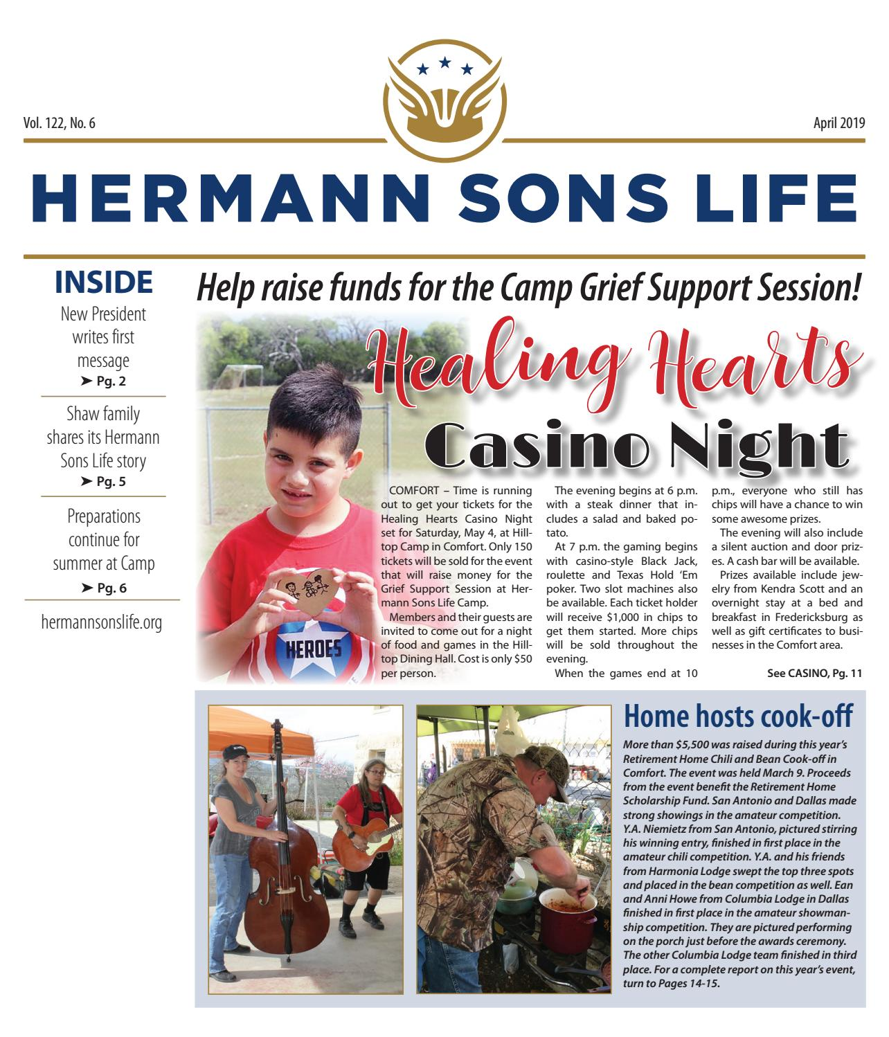 April 2019 by Hermann Sons Life - issuu