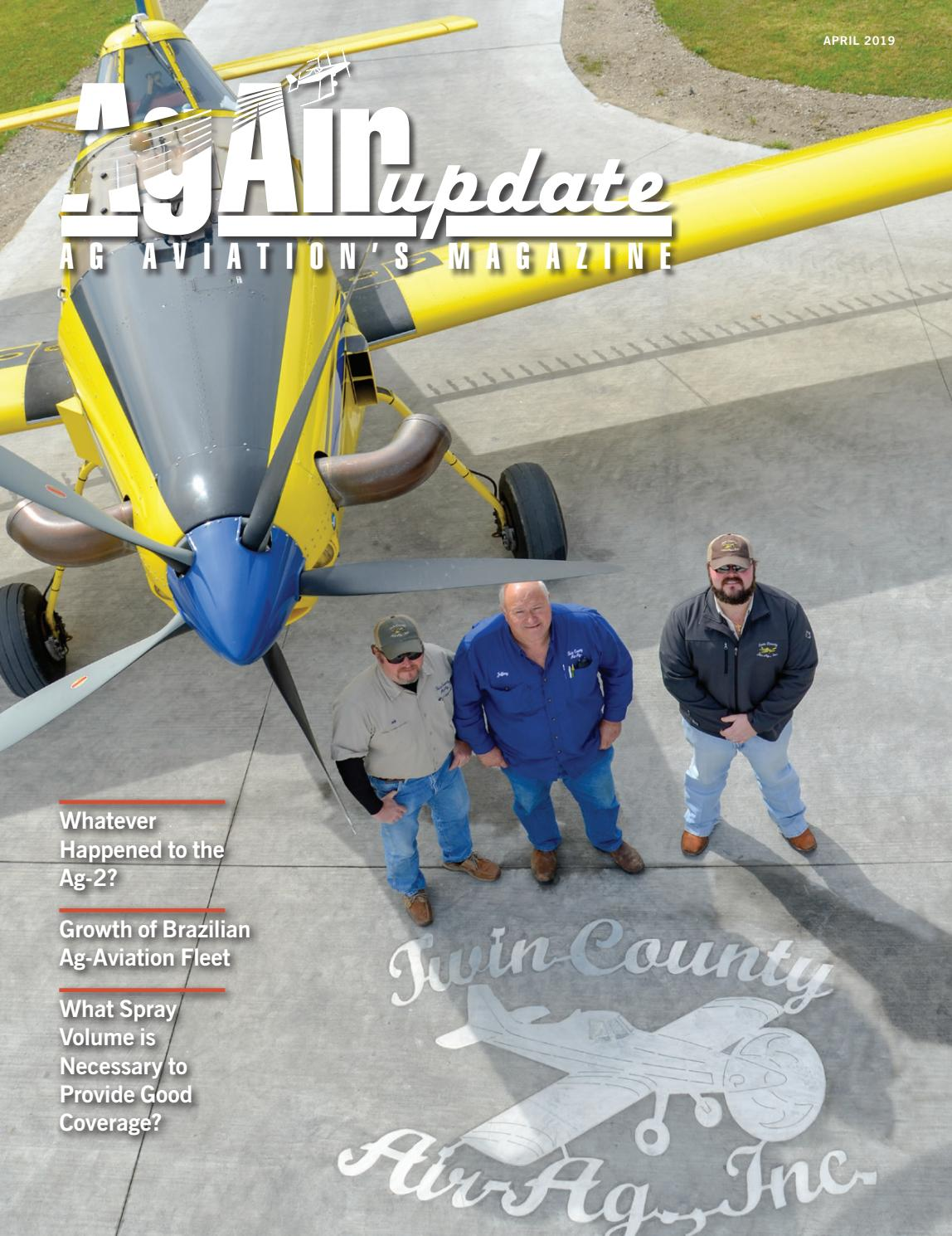April 2019 - U S  Edition in English by AgAir Update - issuu