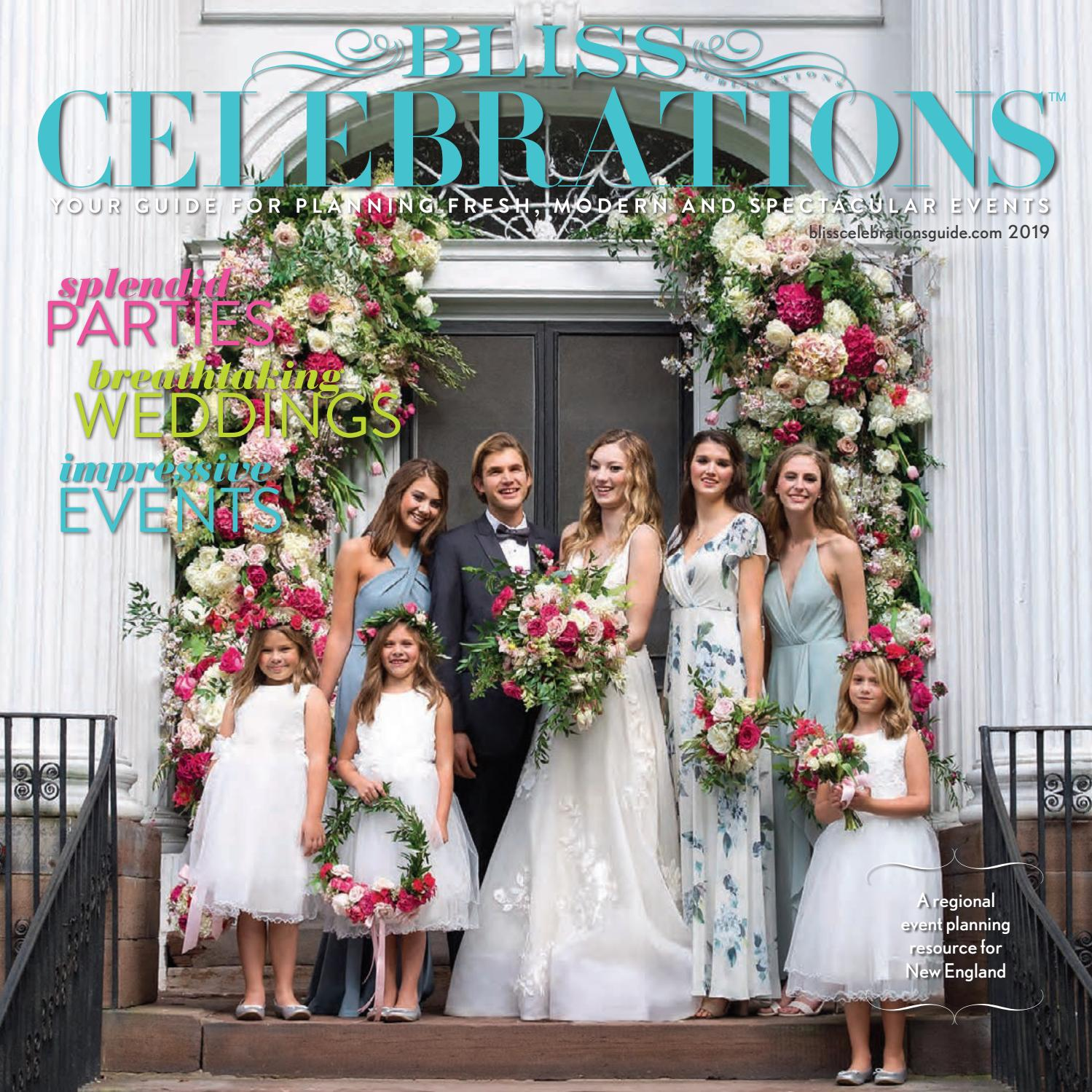 c2533f5f09 2019 BLISS CELEBRATIONS GUIDE by Bliss Publications - issuu