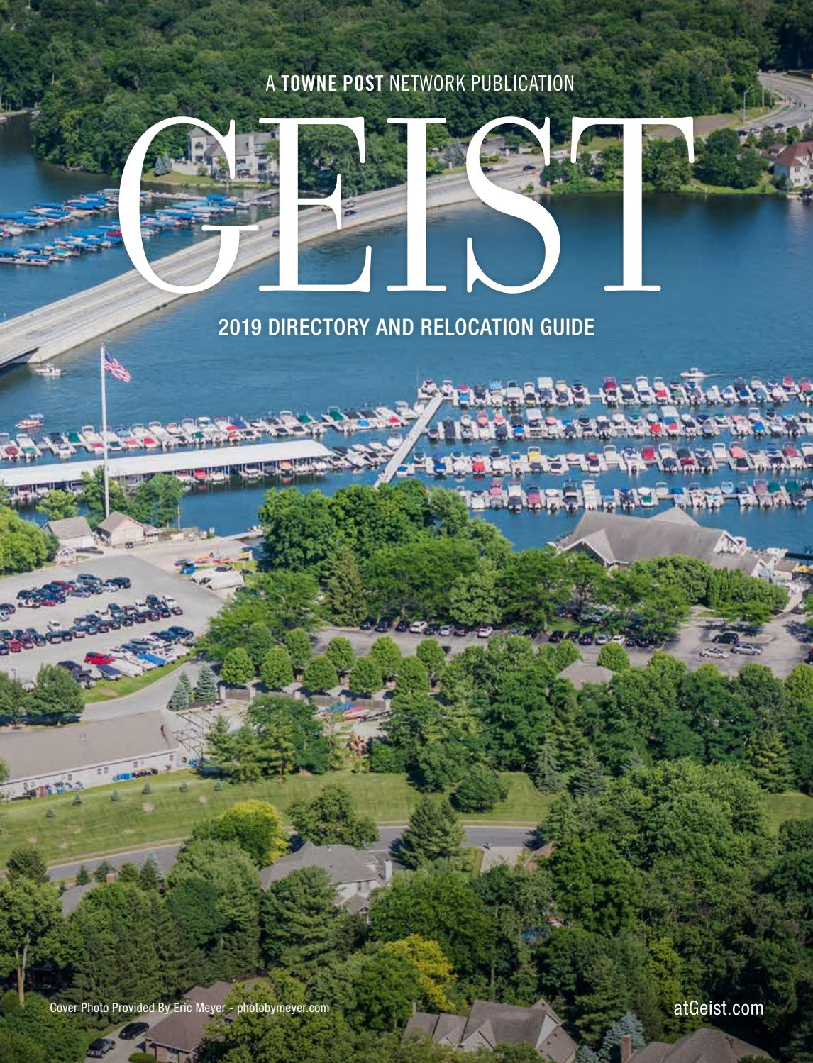 Geist Magazine 2019 Directory And Relocation Guide By Towne Post Network Inc Issuu