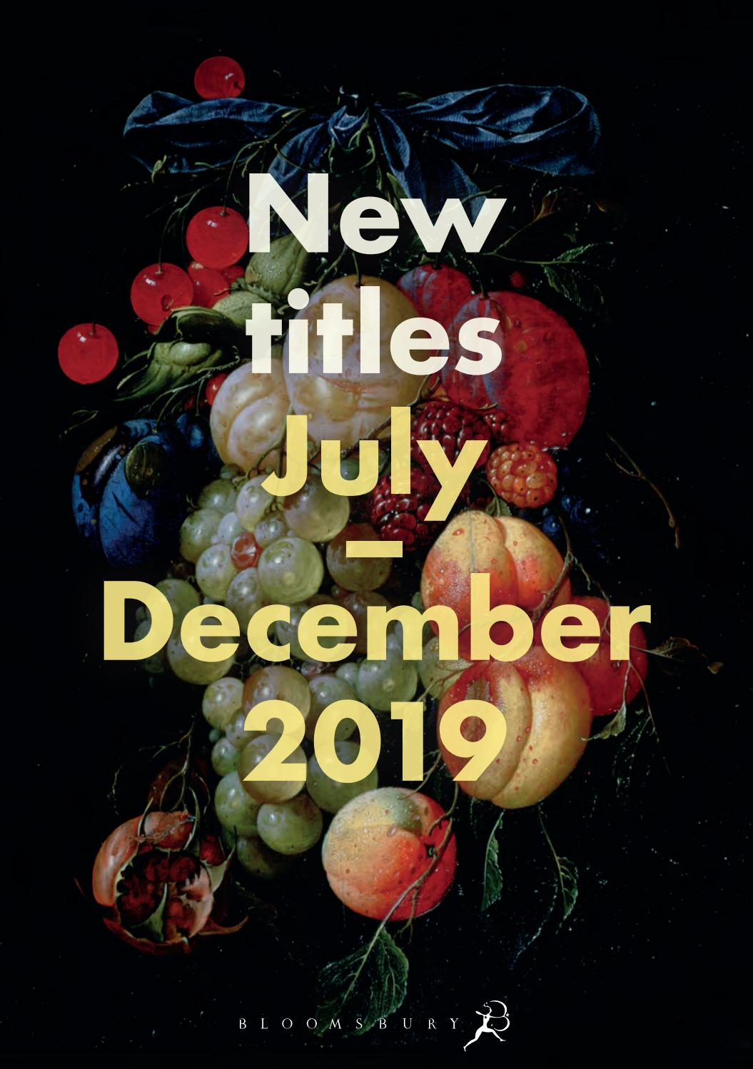 Bloomsbury Adult Trade Catalogue July - December 2019 by Bloomsbury