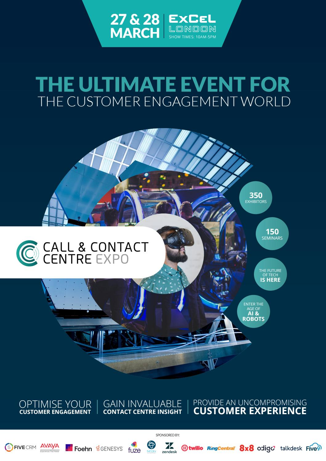 Call & Contact Centre Expo 2019 by Prysm Group - issuu