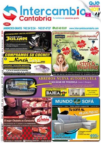 3faa4ba52 REVISTA INTERCAMBIO CANTABRIA 843 by Revista Intercambio Cantabria ...